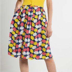 NWT Fever London Lemonade Full Skirt w/Pockets